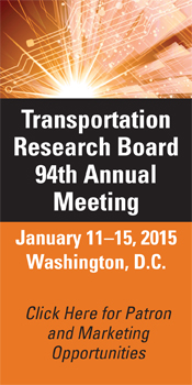 Patron and Marketing Opportunities for TRB's 94th Annual Meeting